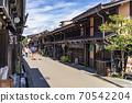 다카야마 오래된 마치 나미 세 도시 전통적 건조물 군 보존 지구 다카야마 다실 세잎 카페 떠나 일단 70542204