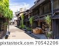 다카야마 오래된 마치 나미 세 도시 전통적 건조물 군 보존 지구하다합니다 우물 70542206