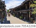다카야마 오래된 마치 나미 세 도시 전통적 건조물 군 보존 지구 다카야마 다실 세잎 카페 떠나 일단 70542208