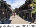 다카야마 오래된 마치 나미 세 도시 전통적 건조물 군 보존 지구 다카야마 다실 세잎 카페 떠나 일단 70542209
