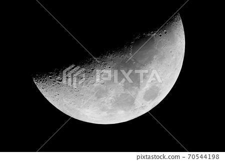 First quarter moon 70544198
