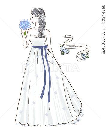 婚紗禮服 70544569