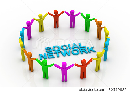 Social network people 70549882