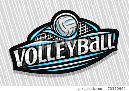 Vector logo for Volleyball 70550962