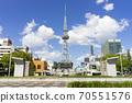 나고야시 나카 구 사카에 도시 풍경 錦通의 탑 70551576