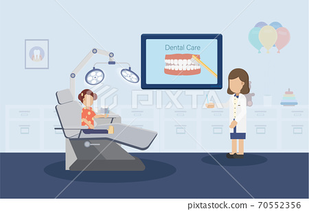 Dental care concept 70552356