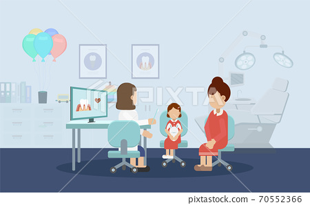 Dentist with child 70552366