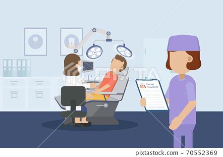 Dental insurance concept 70552369