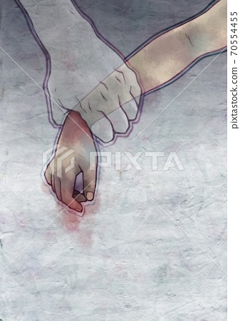 Image illustration of bullying / DV / abuse problem 70554455