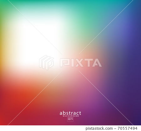 Abstract blurred gradient mesh background bright rainbow colors. 70557494