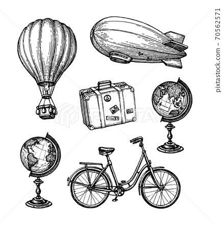 Vintage travel set. 70562571