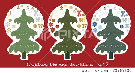 Christmas tree and decoration _09 70565100