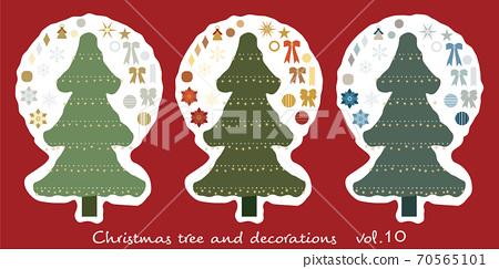 聖誕樹和裝飾_10 70565101