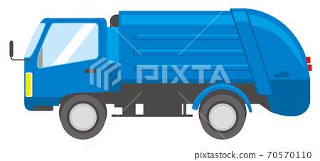 垃圾車 70570110