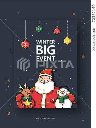 冬季,聖誕節,購物,事件,彈出 70572140