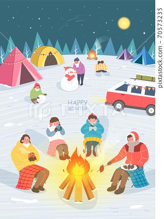 冬天,情感,旅行 70573235