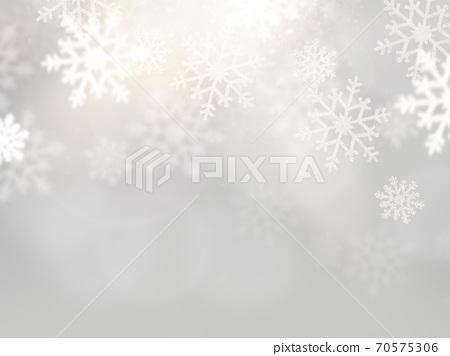 銀色雪背景-有多種變化 70575306