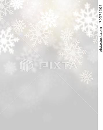銀色雪背景-有多種變化 70575308