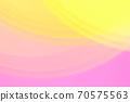 抽象背景粉红色/橙色系统温柔曲线 70575563