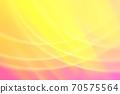 抽象背景粉红色/橙色系统温柔曲线 70575564