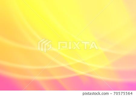 抽象背景粉紅色/橙色系統溫柔曲線 70575564