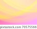 抽象背景粉红色/橙色系统温柔曲线 70575566