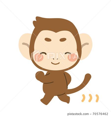 行走的猴子 70576462