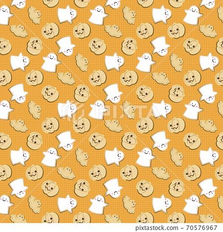 Halloween cookie pattern 70576967