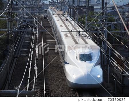 At Shinkansen N700A Honcho Crossing Bridge 70580025