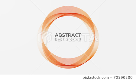 Abstract circle modern line pattern background. vector illustration 70590200