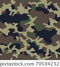 Fashionable camouflage pattern, military print .Seamless illustration 70594232
