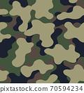 Fashionable camouflage pattern, military print .Seamless illustration 70594234