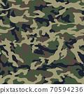 Fashionable camouflage pattern, military print .Seamless illustration 70594236