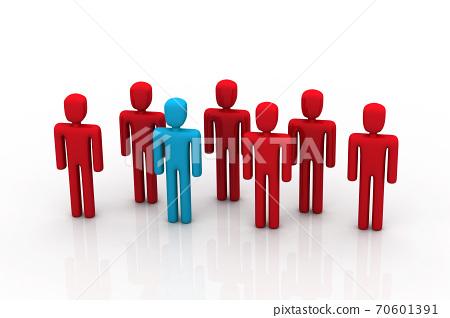 Social network people. 70601391