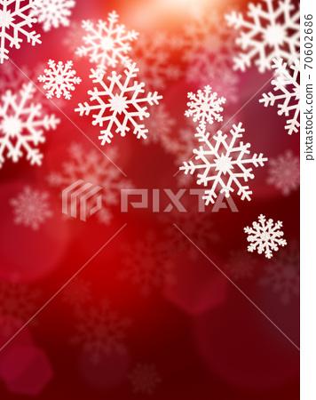 閃閃發光的雪晶背景-有多種變化 70602686