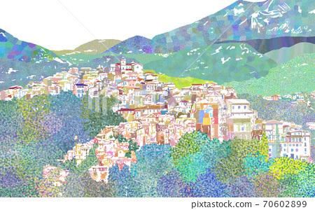 이탈리아 거리 70602899