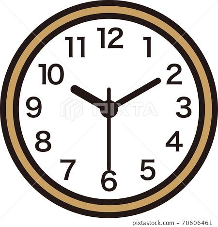 벽걸이 시계 (아날로그) 70606461