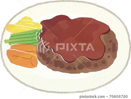 漢堡牛排 70608780