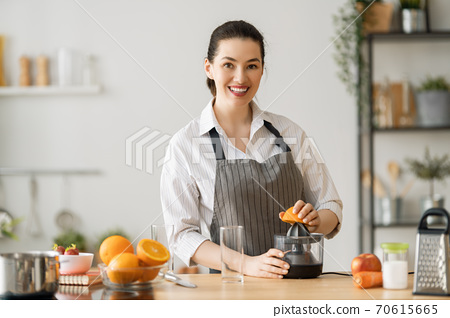 Healthy food at home. 70615665