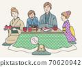 和家人一起過年菜 70620942