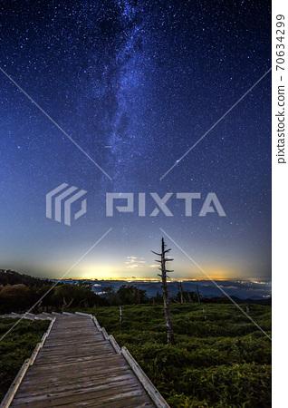 큰 台케原의 밤하늘 70634299