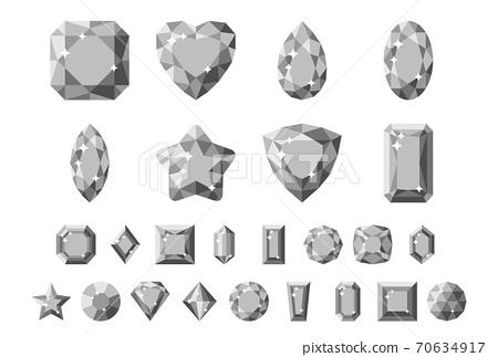 珠寶/單色/套裝 70634917