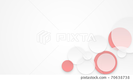 종이 컷 추상적 인 디자인 예술적 컨셉 [16 : 9] 70638738