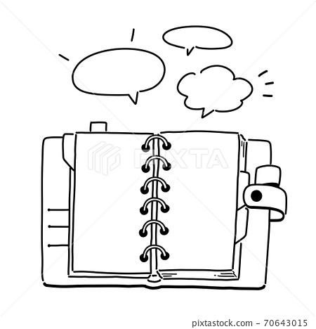 A notebook meeting 70643015