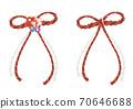 Japanese style ribbon 70646688