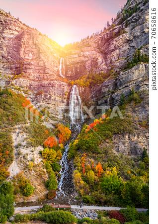 Bridal Veil Falls, Provo, Utah 70658616
