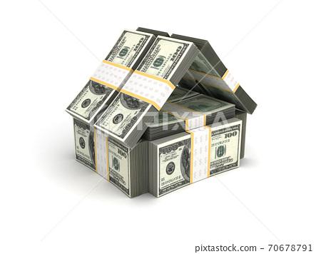 Real Estate Concept Dollar 70678791