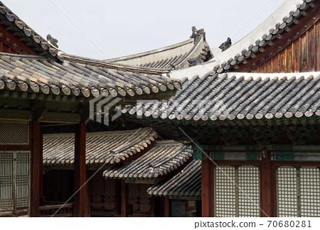 한국의 전통 궁전 창경궁, 전통건물   70680281