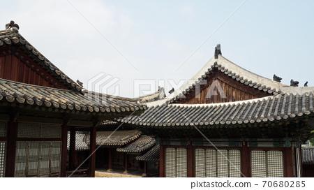 한국의 전통 궁전 창경궁, 전통건물   70680285
