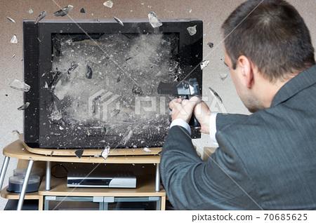 A shooting at TV 70685625